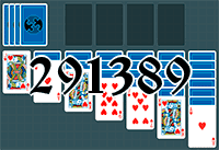 Solitaire №291389