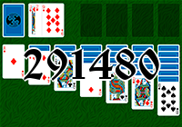 Solitaire №291480
