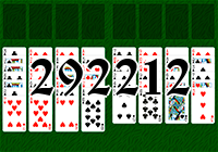 Solitaire №292212