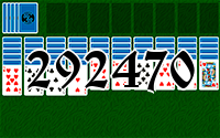 Solitaire №292470