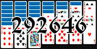Solitaire №292646