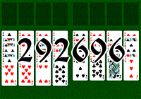 Solitaire №292696