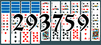 Solitaire №293759