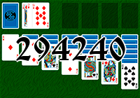Solitaire №294240
