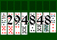 Solitaire №294848