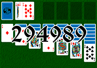 Solitaire №294989
