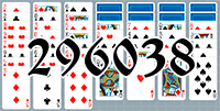 Solitaire №296038