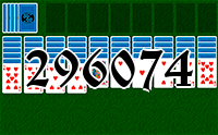 Solitaire №296074