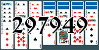 Solitaire №297949