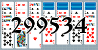 Solitaire №299534