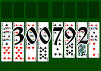 Solitaire №300792