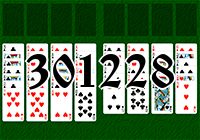 Solitaire №301228