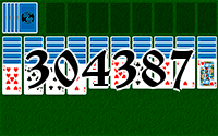Solitaire №304387