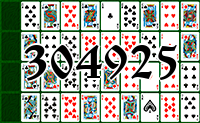 Solitaire №304925