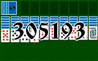 Solitaire №305193
