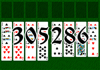 Solitaire №305286