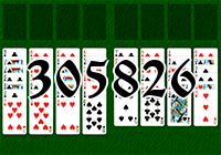 Solitaire №305826