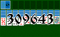 Solitaire №309643