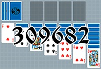 Solitaire №309682
