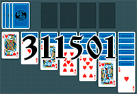 Solitaire №311501