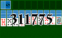 Solitaire №311775