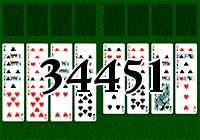 Solitaire №34451