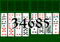 Solitaire №34685