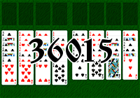 Solitaire №36015
