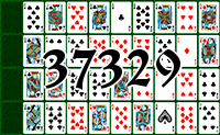 Solitaire №37329