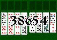 Solitaire №38654