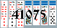 Solitaire №41075