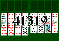 Solitaire №41319