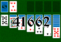 Solitaire №41662