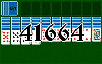 Solitaire №41664