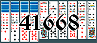Solitaire №41668