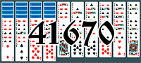 Solitaire №41670