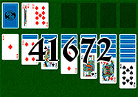 Solitaire №41672