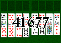 Solitaire №41677