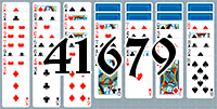 Solitaire №41679