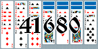 Solitaire №41680