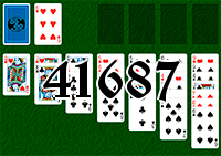Solitaire №41687