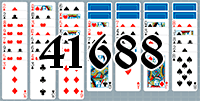 Solitaire №41688