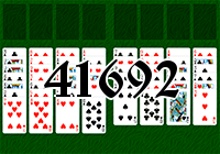 Solitaire №41692