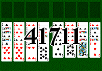 Solitaire №41711