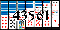 Solitaire №43561