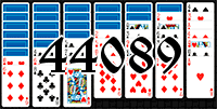 Solitaire №44089