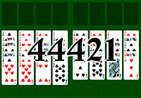 Solitaire №44421