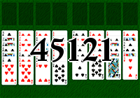 Solitaire №45121