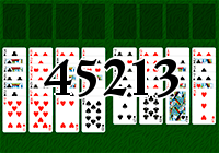 Solitaire №45213