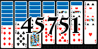 Solitaire №45751